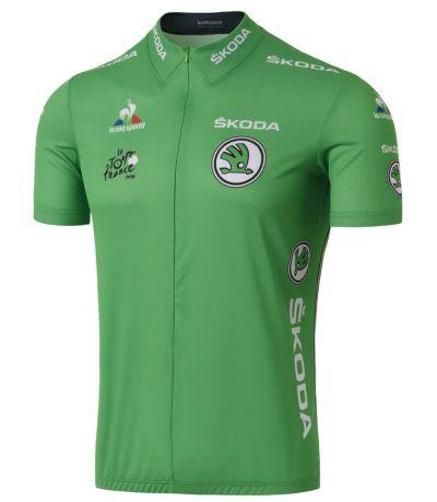Utilizada pelo líder da classificação por pontos foi introduzida em 1953 em  comemoração aos 50 anos do Tour de France e homenageia a cor da tarja  utilizada ... 93c40618b2f78